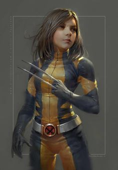 "league-of-extraordinarycomics: ""Wolverine by Fajareka Setiawan. """