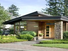 Image result for small modern lake home plans