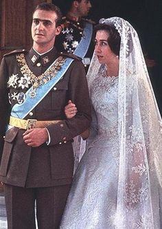 Boda real Juan Carlos y Sofía de Grecia