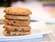 Dairy Free Chocolate Chip Peanut Butter Cookies | The Spiced Life