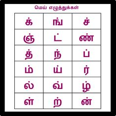 Correct Tamil Alphabet Chart Tamil Ezhuthukal Chart Tamil Uyir Ezhuthukal Chart Color Vowel Chart Pdf Tamil Letters Chart With Pictures Tamil Alphabets Chart With English Kindergarten Syllabus, Handwriting Worksheets For Kindergarten, Worksheet For Class 2, 2nd Grade Worksheets, Letter Flashcards, Flashcards For Kids, Alphabet Charts, Alphabet Book, Letters For Kids