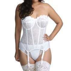 Beautiful Daisy Corded lace from a Medium to a 4XL