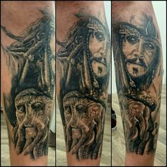 Tattoo piratas del caribe
