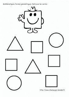 1000 images about maths ps on pinterest lego printable - Coloriage des formes geometriques ...