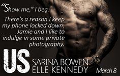 Us (Him by Sarina Bowen & Elle Kennedy is coming soon! Elle Kennedy, Book Boyfriends, Bestselling Author, Teaser, Romance, Feelings, Reading, My Love, Books