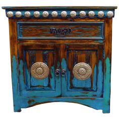 Amazing Las Cruces End Table | Jorge Kurczyn Copper Furniture