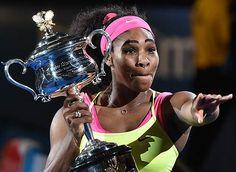 Serena 2015 Austrailian Open winner 19 Grand Slams!!