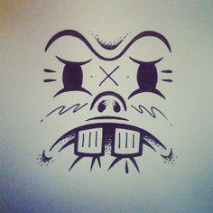 Face 2 by uglylogo, via Flickr