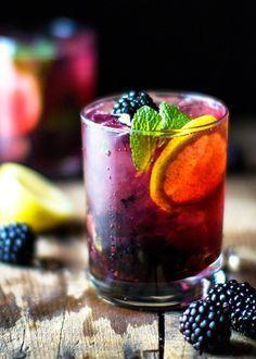 Blackberry Lemon Gin