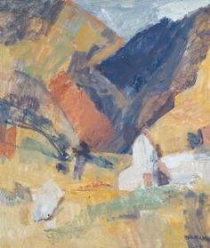 Toss Woollaston Art For Art Sake, Tossed, New Zealand, Level 3, Painting, Image, Inspirational, Artists, Painting Art