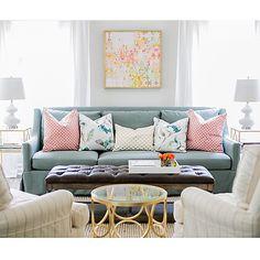 Perked up sofa pillows for spring   Jana Bek