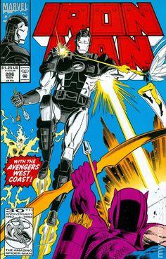 Iron Man (1968 1st Series) 286 Marvel Comics Modern Age Comic book covers Super Heroes Villians Tony Stark War Machine