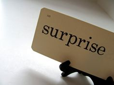 Surprise  by CAB on Etsy