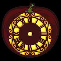 Pumpkin Clock CO - Stoneykins Pumpkin Carving Patterns and Stencils