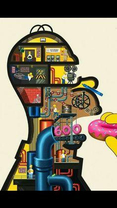 what's inside Homer Simpson wallpaper Homer Simpson, Simpson Tv, Simpson Wallpaper Iphone, Cartoon Wallpaper, Cool Wallpaper, Iphone Wallpaper, Deadpool Wallpaper, The Simpsons, Funny Wallpapers