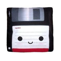 Floppy disc pillow!  I like it.
