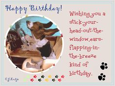 Wishing you a ears flapping Happy Birthday by cjlutje.deviantart.com on @DeviantArt