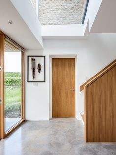 Fixed #skylight- Get better light from above! Architect: CaSA architects Photography: Simon Maxwell