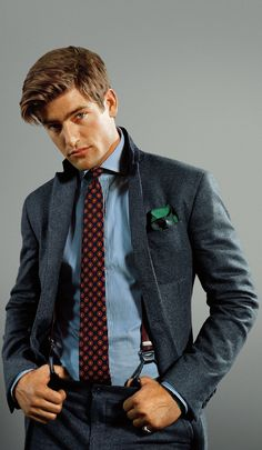 Look sharp at the office with suits, shoes and accessories from POLO Ralph Lauren.