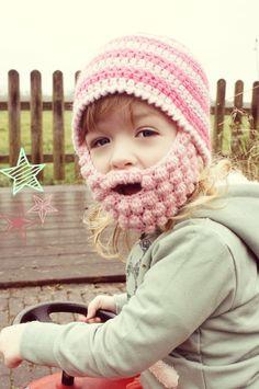 Pink Beardy Crocheting, Crochet Hats, My Love, Pattern, Blog, Pink, Crochet, Knitting Hats, Patterns