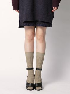 AYAMÉ Basket Lunch Solid Colored Socks (FW 2015.16)