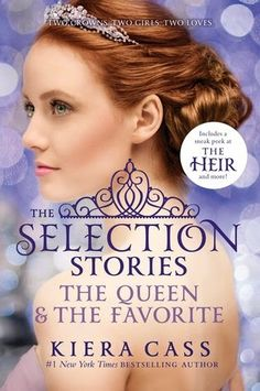 Young Adult Gloss : Kiera Cass Announces...MORE SELECTION STORIES! The queen- queen amberly my and the favorite- Marlee!!
