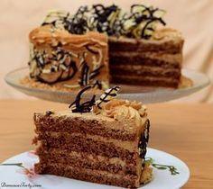 Wyjatkowo pyszny tort kawowy cappuccino
