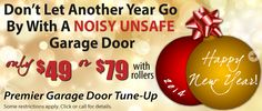 Want to ring in 2014 with major savings? Check out our current promotions at www.gdmedics.com/garage-door-service-promotions