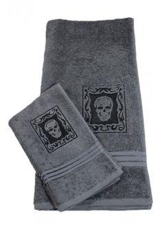 Skull Towel Set | Attitude Clothing