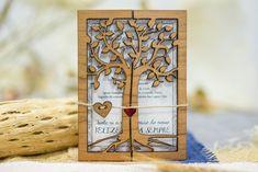 Invitaciones de boda invitación Suite rústica boda invitación Suite impreso madera grabado invitaciones Twine cerezo árbol único set 10