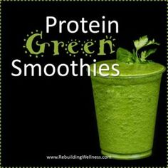 Are you using this simple go-to for mealtime success? Smoothies are not an every meal fix, but they can be a great way to augment a healthy nutrition plan. What's your favorite Protein to add to your healthy green smoothies? http://rebuildingwellness.com/protein-green-smoothies/