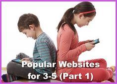 Six Popular Websites for Grades 3-5 (Part 1)