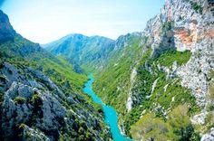 Kanion Verdon, Prowansja, Francja