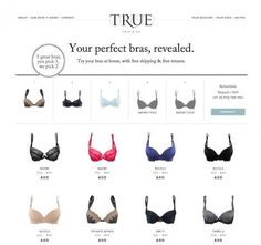 The Internet Might Transform the Way Women Shop for Bras - Giving this a shot... kind of awesome
