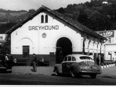 Mill Valley Depot when it was a bus station.