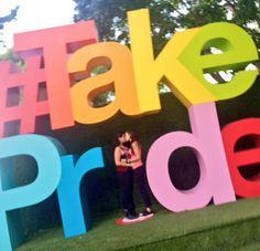 Bria+Chrissy at Minneapolis Pride, 2015