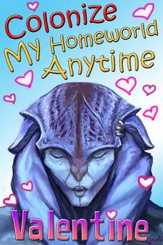 Mass Effect Valentine - Colonize me by efleck on DeviantArt