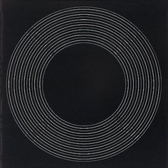 Black Painting Concentric Circles, Ralph Hotere (1970), Oil on Board 910 x 910. From 1968 Hotere was concerned with black paintings in which formal reduction took on a minimalist approach much influenced, as Hotere acknowledged, by the work of Amercian painter Ad Reinhardt.  The Fletcher Collection.