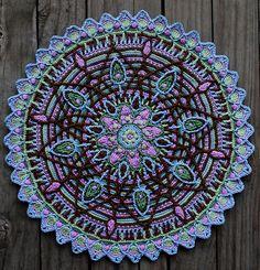 Crochet Overlay Mandala No. 5