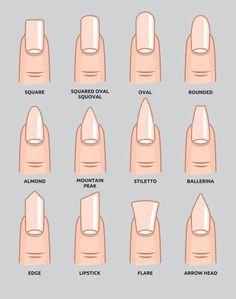 nails names - Google Search