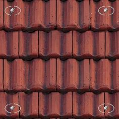 Textures Texture seamless | Clay roof texture seamless 19582 | Textures - ARCHITECTURE - ROOFINGS - Clay roofs | Sketchuptexture