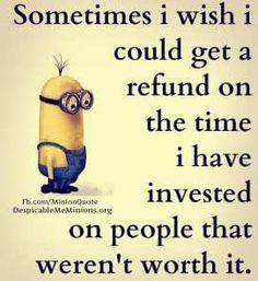 People that weren't worth it
