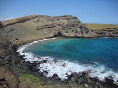 Green Sand Beach. Kona, HI (I miss Hawaii)