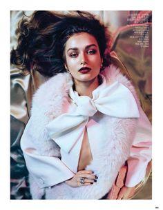 Vogue China August 2013 Editorial - Andreea Diaconu