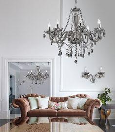 Chandelier, Ceiling Lights, Smoke, Lighting, Home Decor, Candelabra, Decoration Home, Light Fixtures, Room Decor