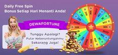 Dewafortune lucky spin berhadiah besar gratis Free Casino Slot Games, Debby Ryan, Wheel Of Fortune, Online Poker, Cute Anime Guys, Online Casino, Spinning, Entertaining, Snapseed