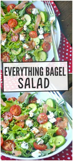 Everything Bagel Salad – Make the Best of Everything
