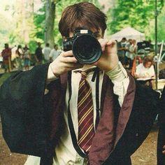 Daniel Radcliffe - bts of Harry Potter Harry James Potter, Harry Potter Tumblr, Images Harry Potter, Arte Do Harry Potter, Harry Potter Icons, Harry Potter Cast, Harry Potter Characters, Harry Potter Universal, Harry Potter World