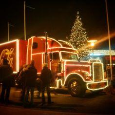 Coca Cola Weihnachtstruck :) #weihnachtstruck #christmastruck #christmas #weihnachten #coke #cocacola #december #dezember