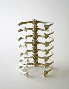 Ribcage bracelet #jewellery
